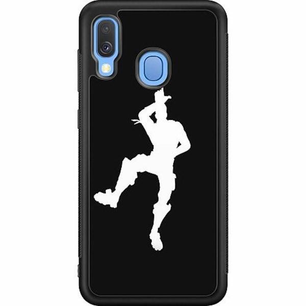Samsung Galaxy A40 Soft Case (Svart) Fortnite Dance