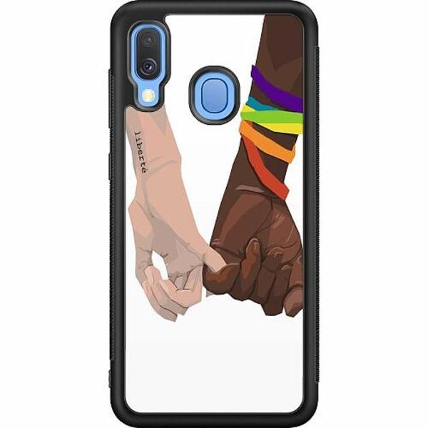 Samsung Galaxy A40 Soft Case (Svart) Liberté