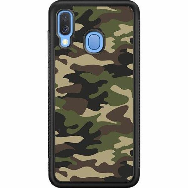 Samsung Galaxy A40 Soft Case (Svart) Militär