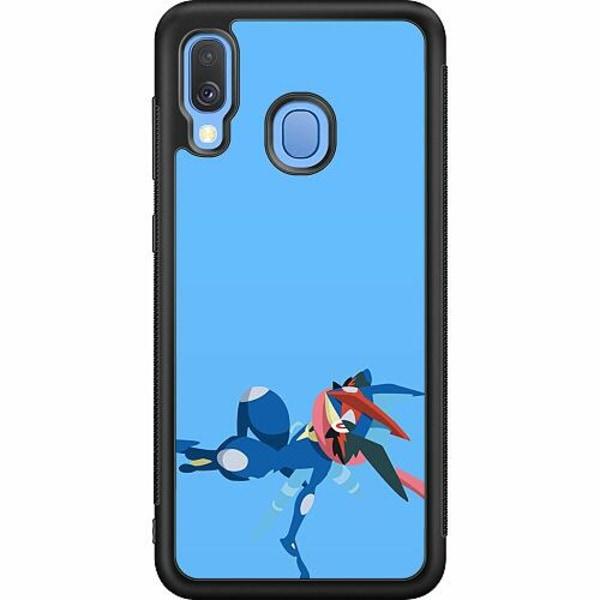 Samsung Galaxy A40 Soft Case (Svart) Pokémon - Greninja