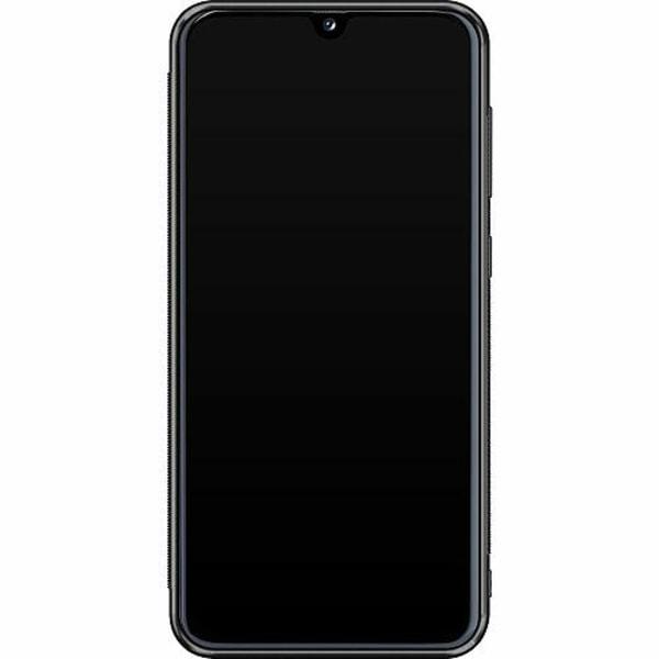 Samsung Galaxy A40 Soft Case (Svart) Detective Pikachu - Psyduck