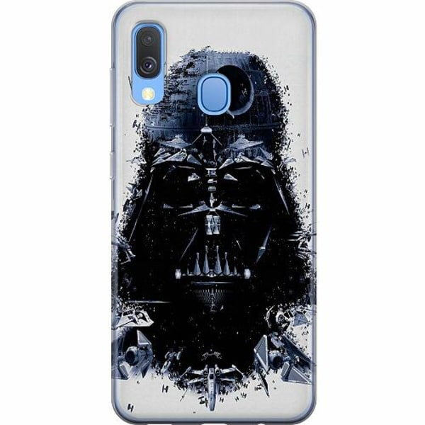 Samsung Galaxy A40 Mjukt skal - Darth Vader
