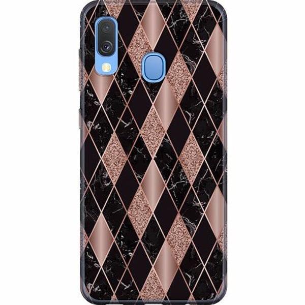Samsung Galaxy A40 Mjukt skal - Mönster