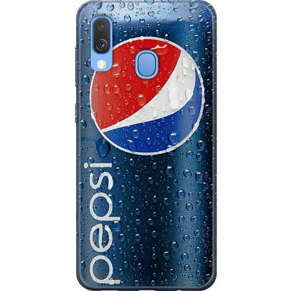Samsung Galaxy A40 Mjukt skal - Pepsi