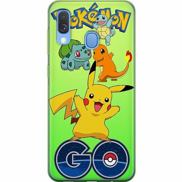 Samsung Galaxy A40 Mjukt skal - Pokemon