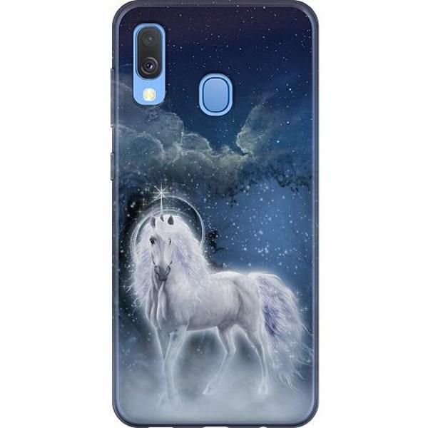 Samsung Galaxy A40 Mjukt skal - Unicorn