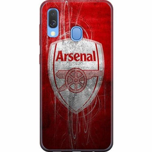 Samsung Galaxy A40 Mjukt skal - Arsenal