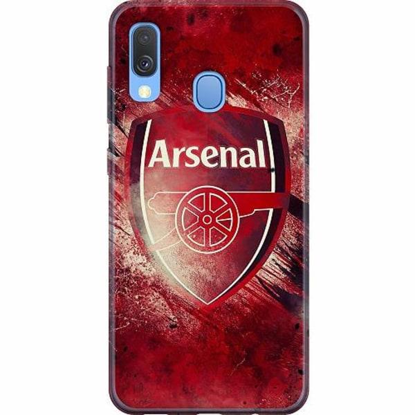 Samsung Galaxy A40 Mjukt skal - Arsenal Football