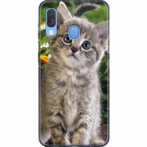 Samsung Galaxy A40 Mjukt skal - Cat