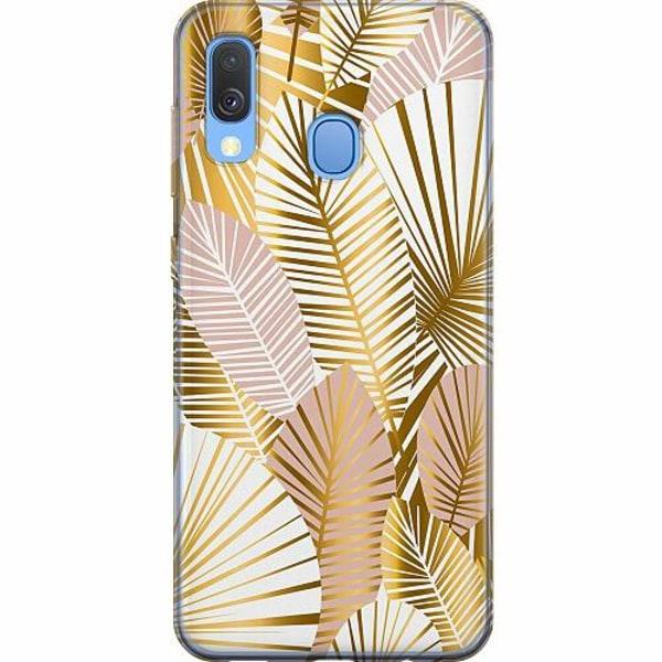 Samsung Galaxy A40 Mjukt skal - Gold