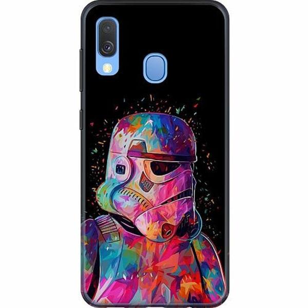 Samsung Galaxy A40 Mjukt skal - Star Wars Stormtrooper