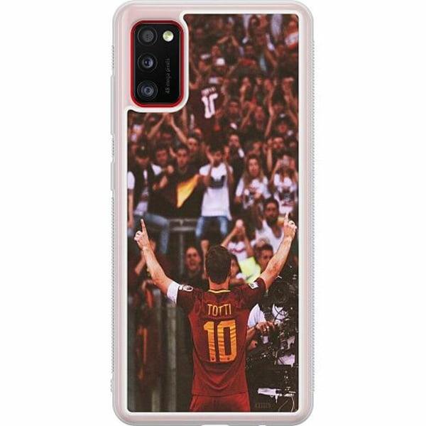 Samsung Galaxy A41 Soft Case (Frostad) Francesco Totti