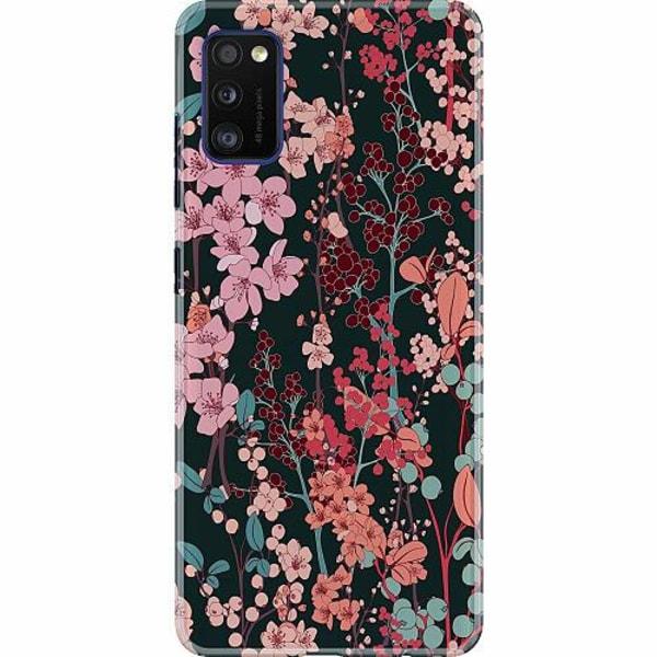 Samsung Galaxy A41 Thin Case Blommor