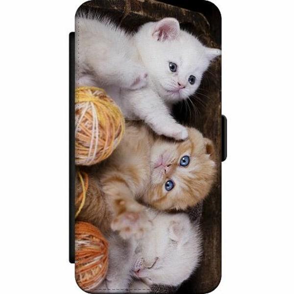 Samsung Galaxy A42 5G Skalväska Kittens and Yarn