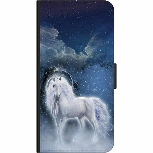 Samsung Galaxy A42 5G Wallet Case Unicorn