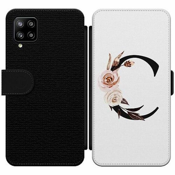 Samsung Galaxy A42 5G Wallet Slim Case Bokstäver