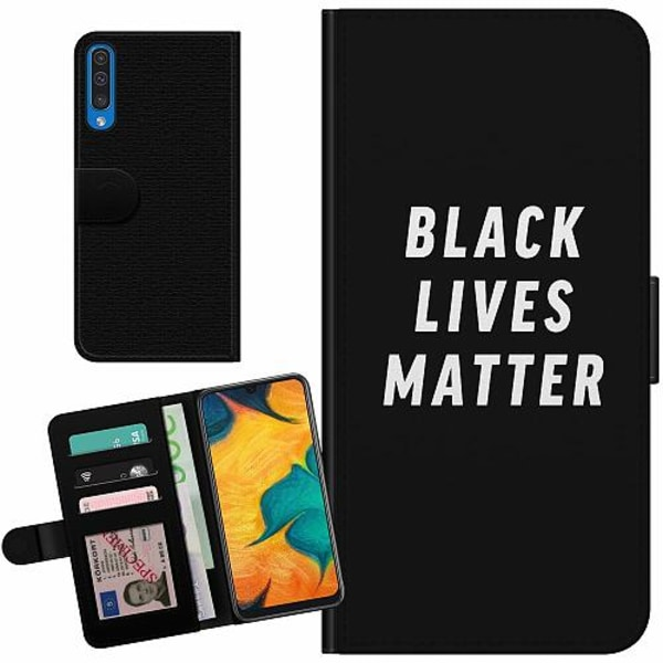 Samsung Galaxy A50 Billigt Fodral Black Lives Matter