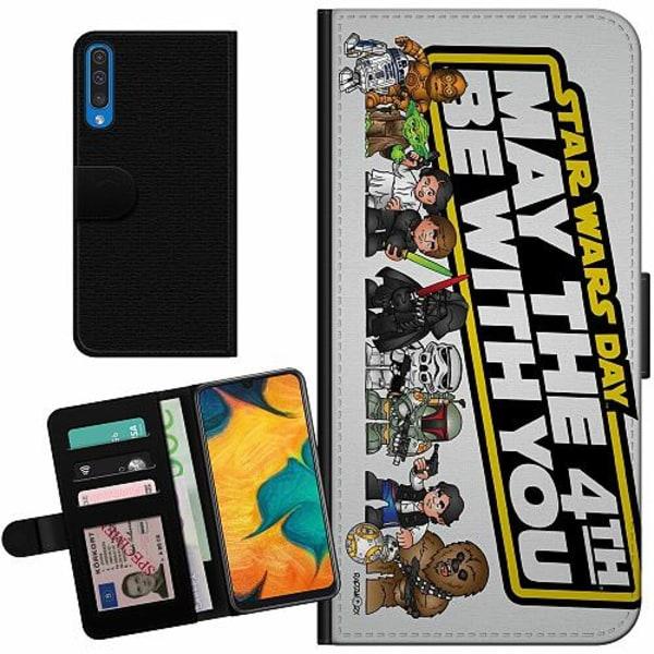 Samsung Galaxy A50 Billigt Fodral Star Wars