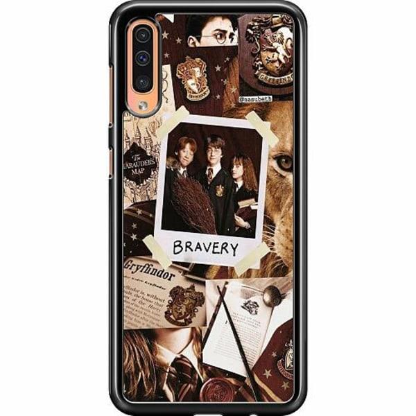 Samsung Galaxy A50 Hard Case (Svart) Harry Potter
