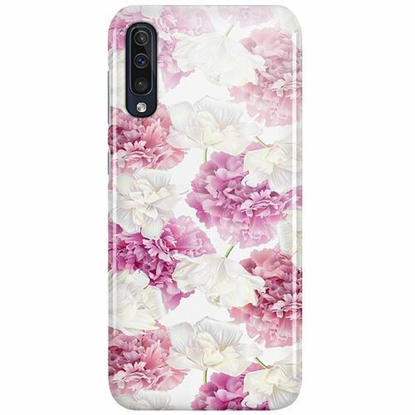 Samsung Galaxy A50 LUX Mobilskal (Glansig) Blommor