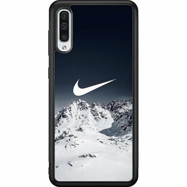 Samsung Galaxy A50 Soft Case (Svart) Nike
