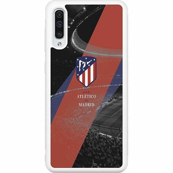 Samsung Galaxy A50 Soft Case (Vit) Club Atlético de Madrid S.A.D