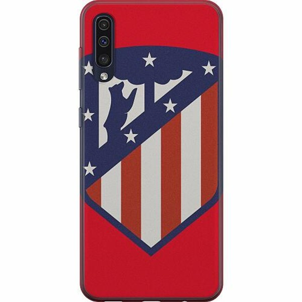 Samsung Galaxy A50 Mjukt skal - Club Atlético de Madrid S.A.D