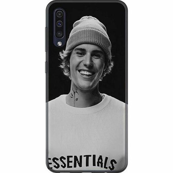 Samsung Galaxy A50 TPU Mobilskal Justin Bieber 2021