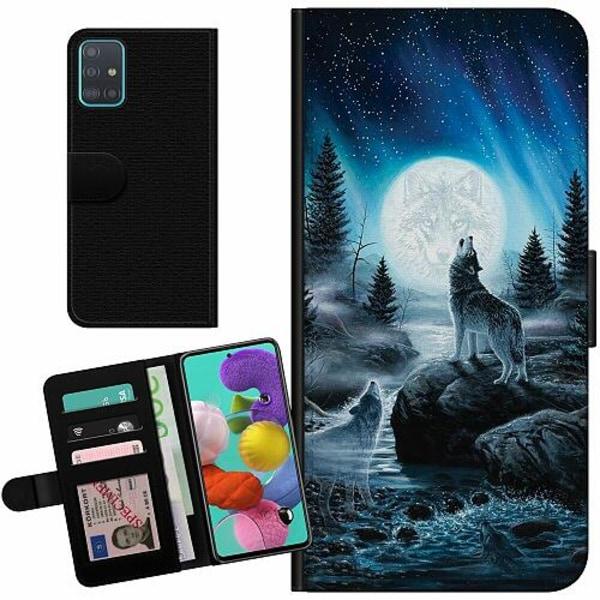 Samsung Galaxy A51 Billigt Fodral Wolf / Varg