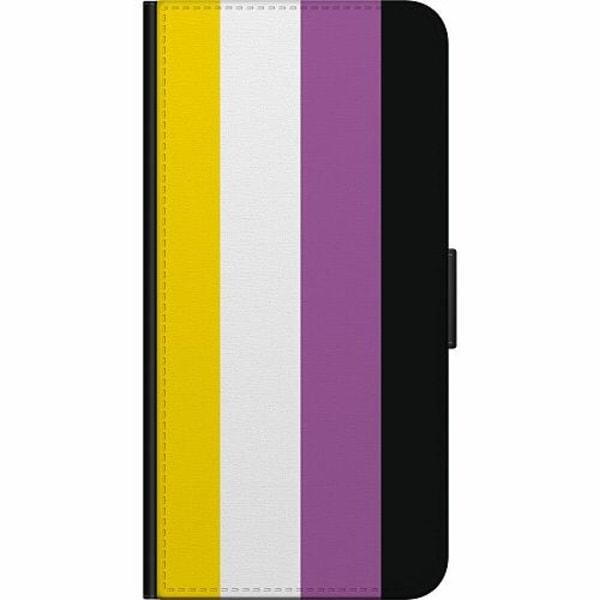 Apple iPhone 8 Fodralväska Pride - Non-Binary
