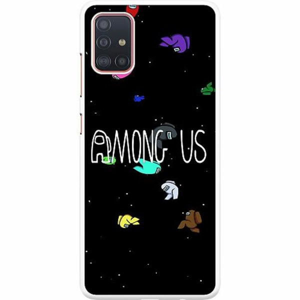 Samsung Galaxy A51 Hard Case (Vit) Among Us