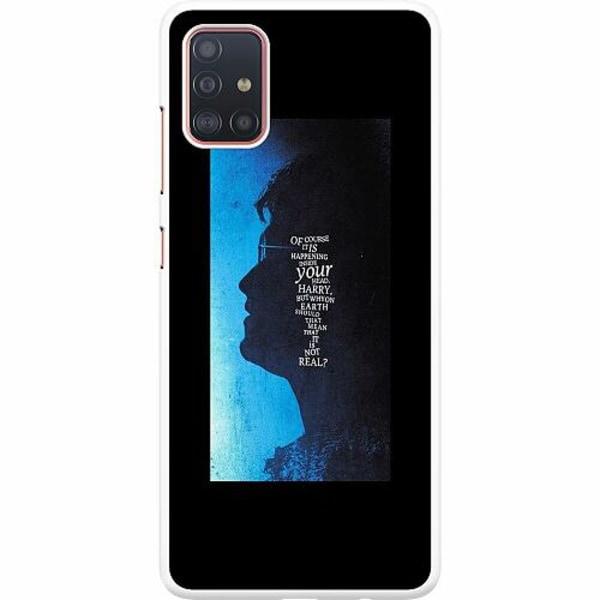 Samsung Galaxy A51 Hard Case (Vit) Harry Potter