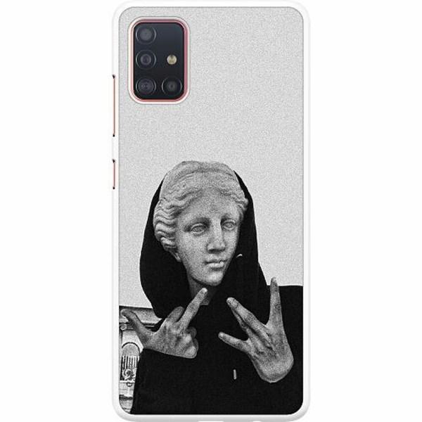 Samsung Galaxy A51 Hard Case (Vit) Hello!