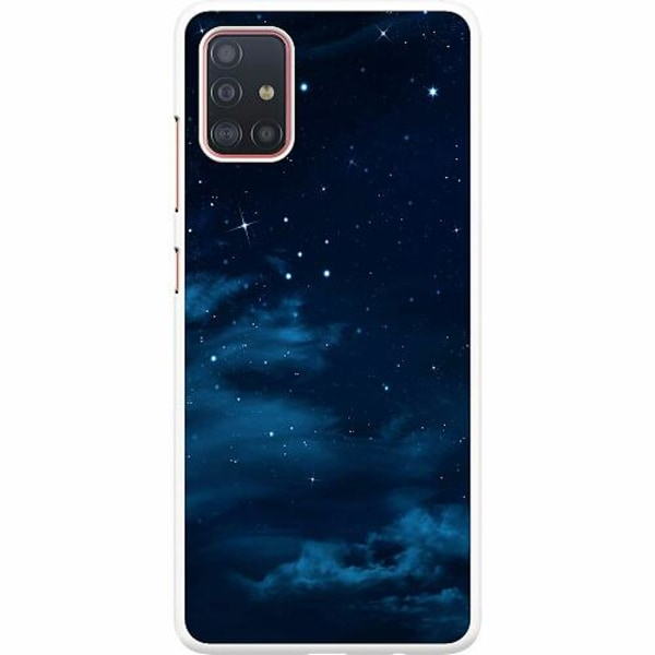 Samsung Galaxy A51 Hard Case (Vit) Himmel