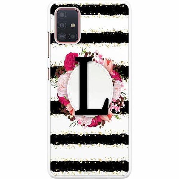 Samsung Galaxy A51 Hard Case (Vit) L