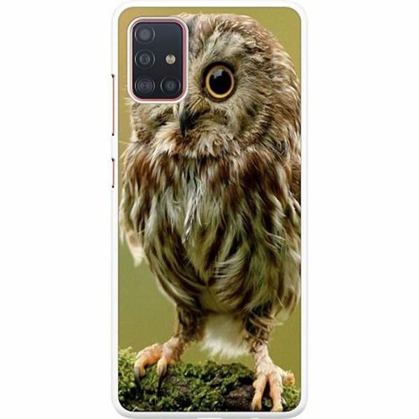Samsung Galaxy A51 Hard Case (Vit) Owl
