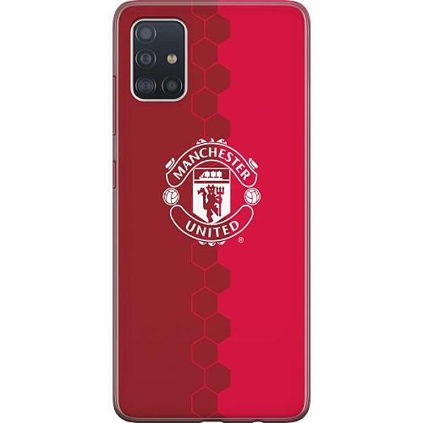 Samsung Galaxy A51 TPU Mobilskal Manchester United FC