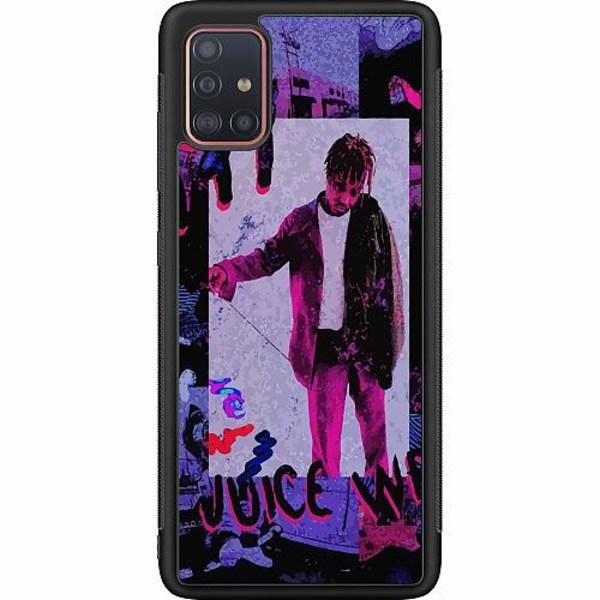 Samsung Galaxy A51 Soft Case (Svart) Juice WRLD
