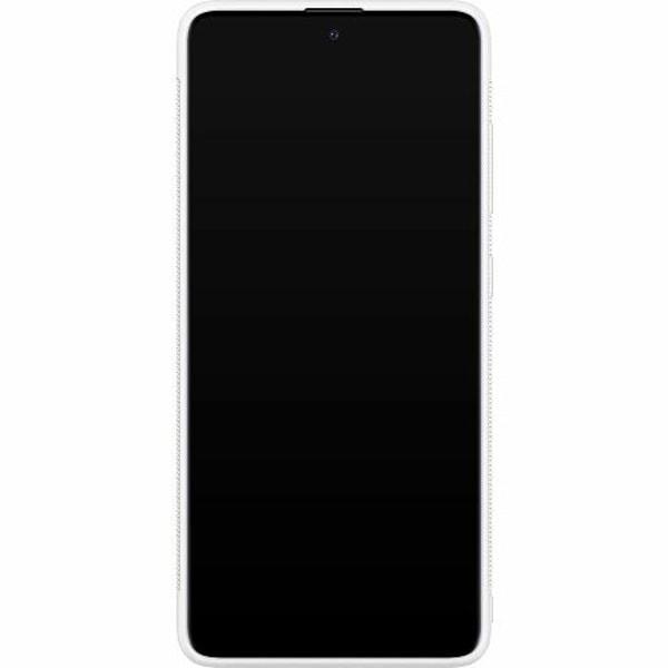 Samsung Galaxy A51 Soft Case (Vit) Billie Eilish 2021