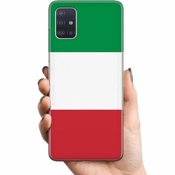 Samsung Galaxy A51 TPU Mobilskal Italien / Italy