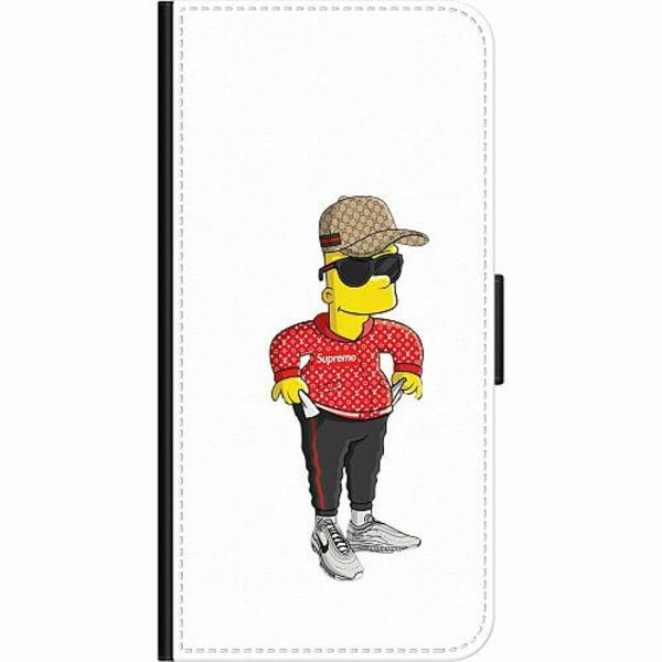 OnePlus 7 Pro Wallet Case Bart Simpsons SUP