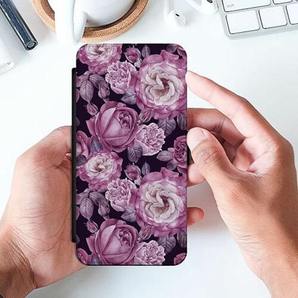 Samsung Galaxy A52 5G Slimmat Fodral Blommor