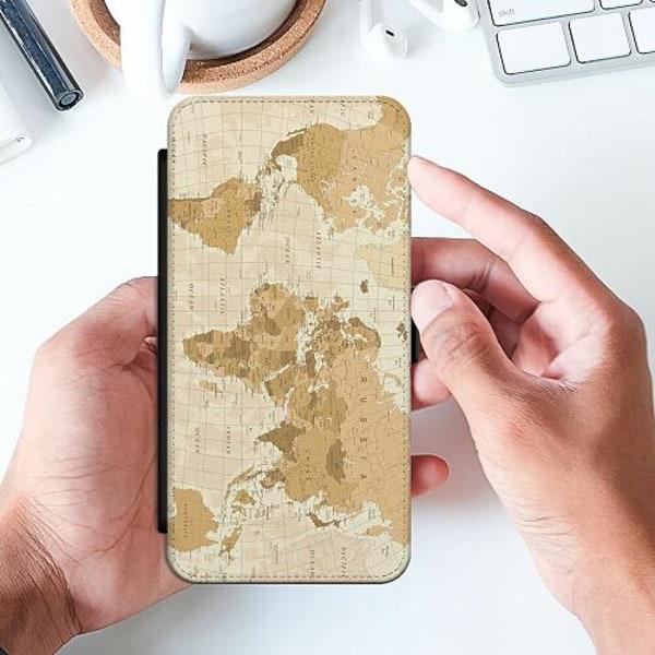 Samsung Galaxy A52 5G Slimmat Fodral Map