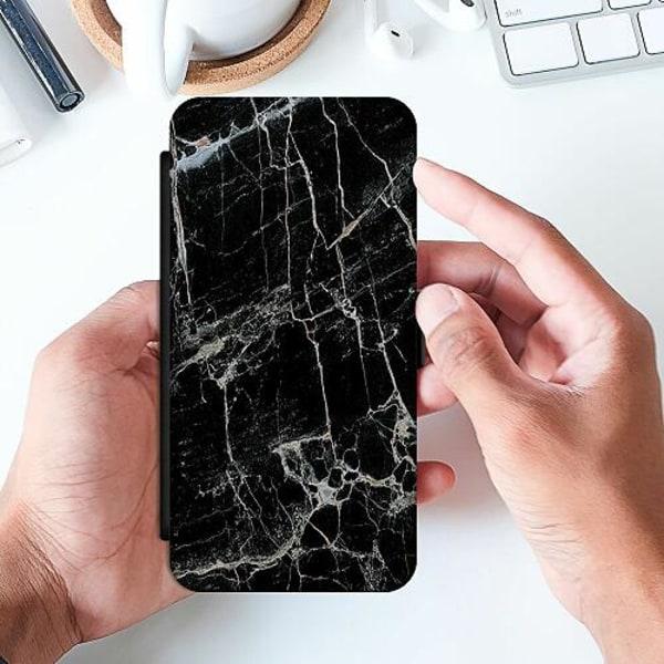 Samsung Galaxy A52 5G Slimmat Fodral Marmor Svart