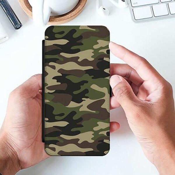 Samsung Galaxy A52 5G Slimmat Fodral Militär
