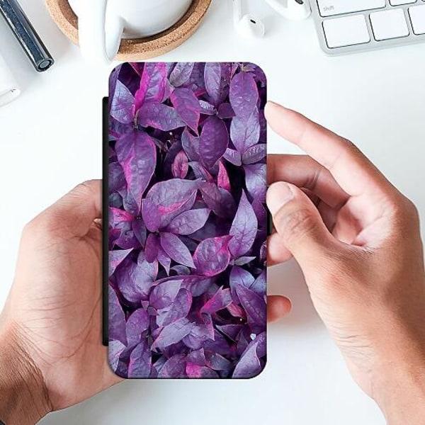 Samsung Galaxy A52 5G Slimmat Fodral Purple Shrubs