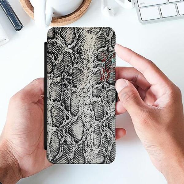 Samsung Galaxy A52 5G Slimmat Fodral Snake on Grey