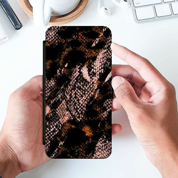Samsung Galaxy A52 5G Slimmat Fodral Snakeskin B
