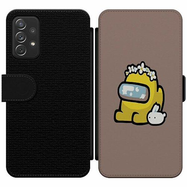 Samsung Galaxy A52 5G Wallet Slim Case Among Us