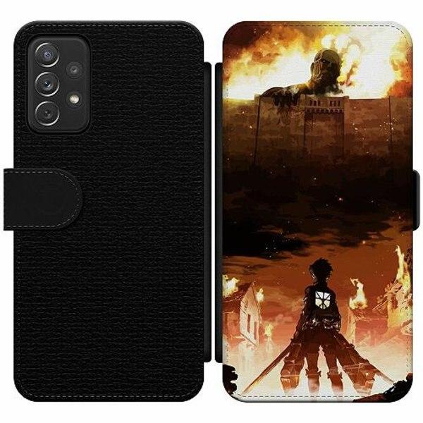 Samsung Galaxy A52 5G Wallet Slim Case Attack On Titan